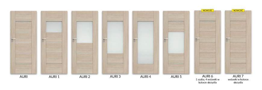 Modele drzwi Auri, DRE - Salony HOFF