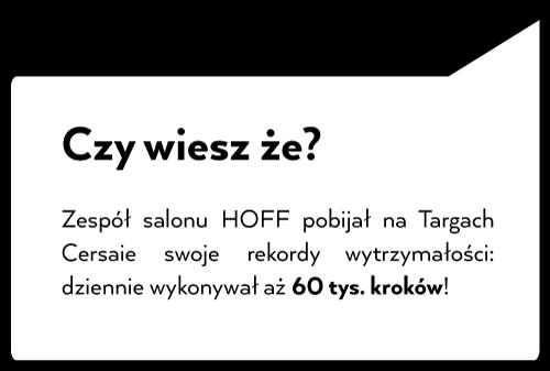 Projektanci Salonu HOFF na targach Cersaie 2019