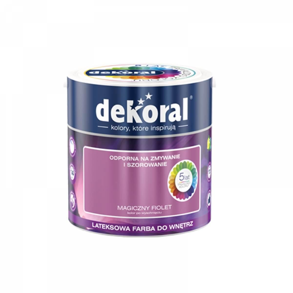 Dekoral Akrylit W Akrylit W Bajkowy Róż 25 L Dekoral
