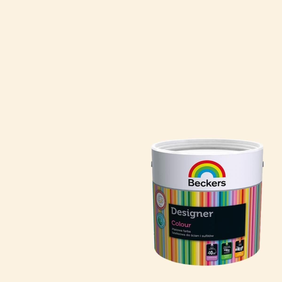 Beckers Farba Lateksowa Designer Colour Sunflower 5l