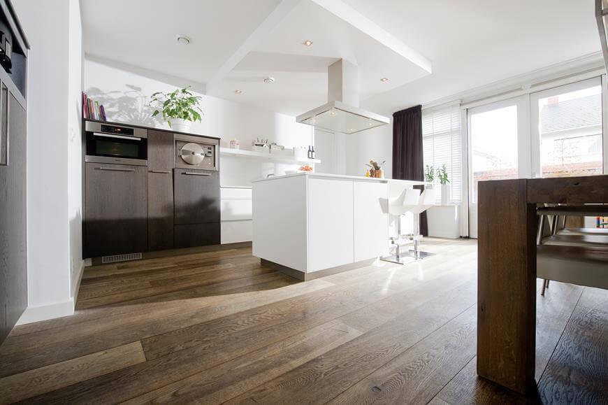 Podłogi drewniane - inspiracje