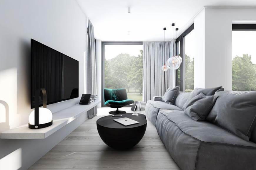 Aranżacja mieszkania - podłogi drewniane