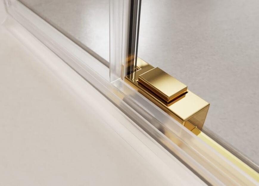 Mechanizm przesuwania drzwi w kabinie prysznicowej Radaway Idea Gold