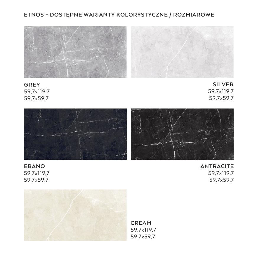 Kolekcja Etnos płytki imitujące kamień - nowośc Ceramica Limone