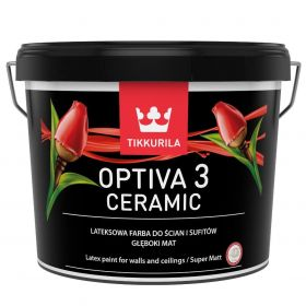 Farba Lateksowa Optiva Ceramic Super Matt 2,7L BazaC Tikkurila