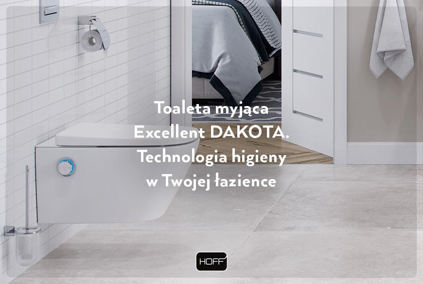 Toaleta myjąca Excellent DAKOTA. Technologia higieny w Twojej łazience